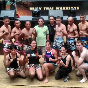 Muay Thai Warriors Group Photo