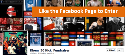 50 Kicks - Like the Facebook Page to Enter
