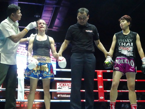 The Decision Yokkao 7 - Sylvie von Duuglas-Ittu vs Lommanee sor. Hirun