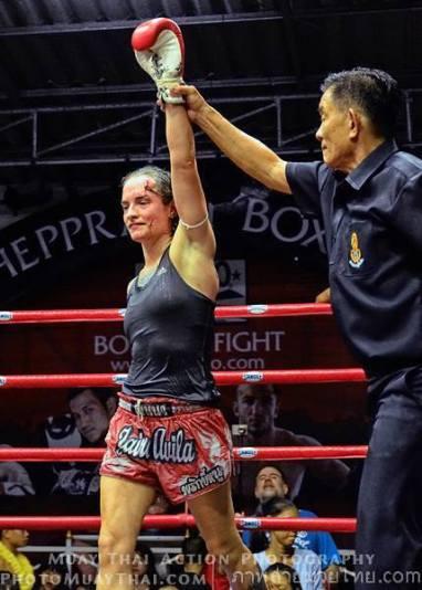 Sylvie von Duuglas-Ittu Victory - Muay Thai