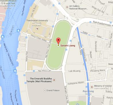 Royal Field - Bangkok - Queen's Cup 2014 - Muay Thai