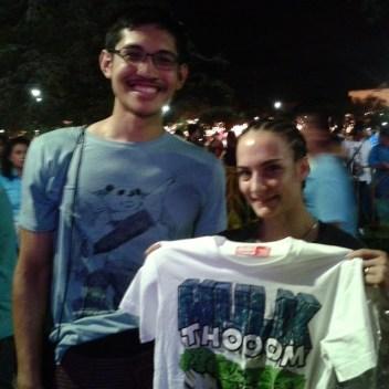 Sylvie and Paul - Hulk T-Shirt
