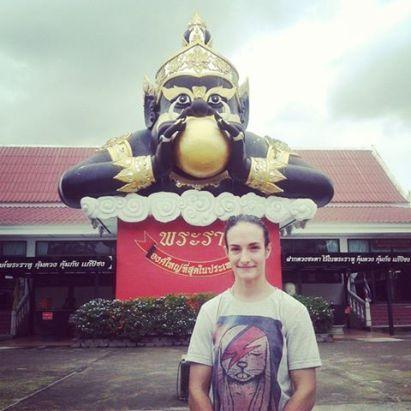 Pra Rahu - Wat Saman Rattanaram - great statue
