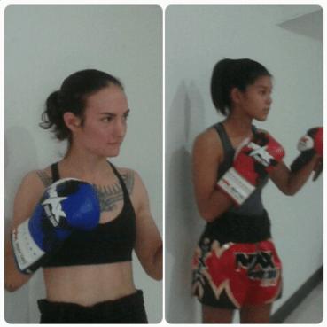 Muangsingjiew vs Sylvie von Duuglas-Itt - Max Muay Thai weigh in