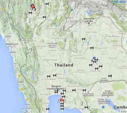Muay Thai Map - Sylvie von Duuglas-Ittu-w1400