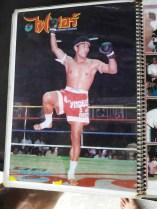 Sagat Petchyindee - Magazine Cover - Muay Thai Street Fighter