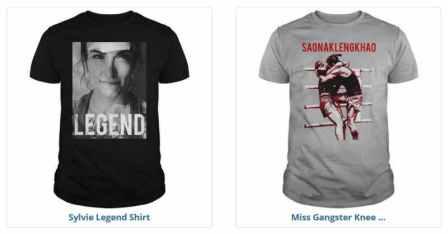 sylvie t-shirts