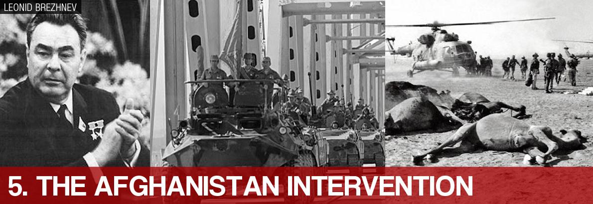 5. The Afghanistan Intervenion