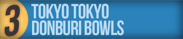 Tokyo Tokyo Donburi
