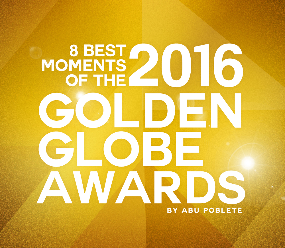 2016 Golden Globes Best Moments