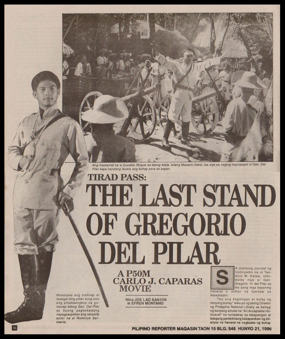 I Remember the Boy: Some Fast Facts About Gregorio del ...