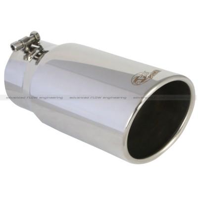 afe 4x5x12 polished angle exhaust tip