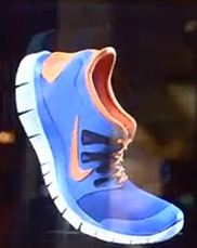 Nike Advertising Goes Holographic
