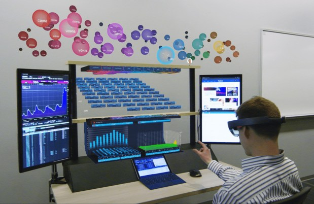 """8ninths Develops """"Holographic Workstation""""™ for Citi Traders using Microsoft HoloLens"""