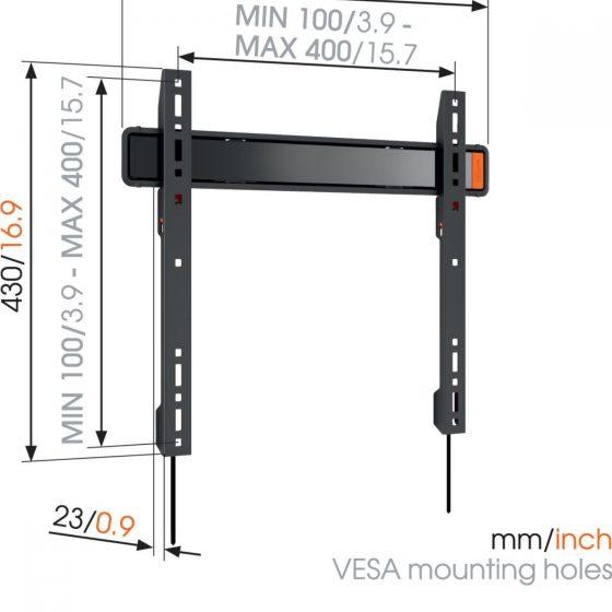 WALL 3205 Soporte TV Fijo | Vogel's