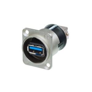 NAUSB-W USB 2.0 A – B Panel | Neutrik