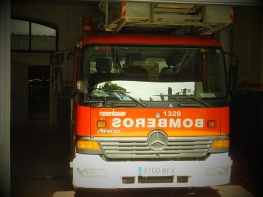 ホテル付近の消防署