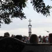 グエル公園20中央広場_バルセロナ5-2ある日本人観光客のスペイン旅行記