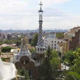 グエル公園24中央広場_バルセロナ5-2ある日本人観光客のスペイン旅行記