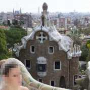 グエル公園25中央広場_バルセロナ5-2ある日本人観光客のスペイン旅行記