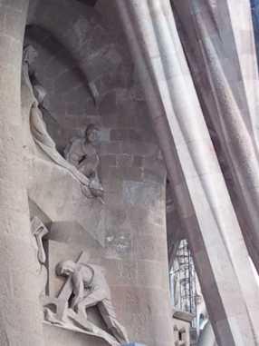 サグラダファミリア10受難の門_バルセロナ5-5ある日本人観光客のスペイン旅行記