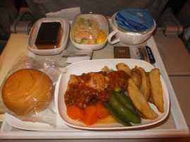 機内食00_エミレーツ_スペイン旅行記2014