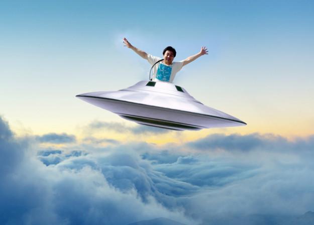 UFOに乗ってみた
