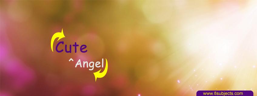 Cute Angel FB Cover