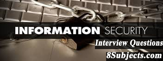 information security interview questions
