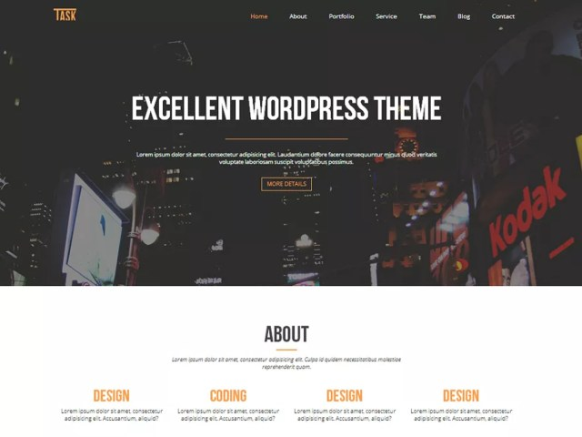 business one wordpress themes