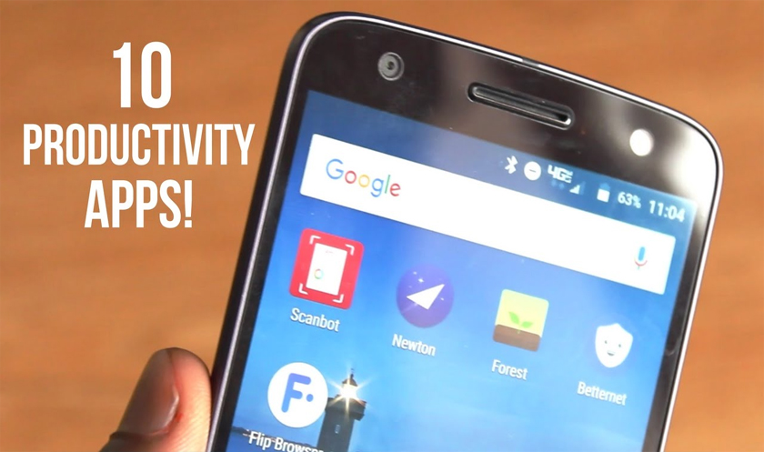Top 10 Mobile Apps For Productivity