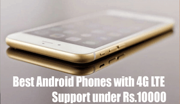 Best Budget 4G Mobiles Below 10000