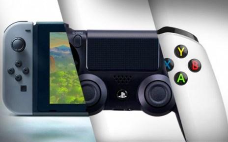 PlayStation 4, Nintendo Switch, Xbox One