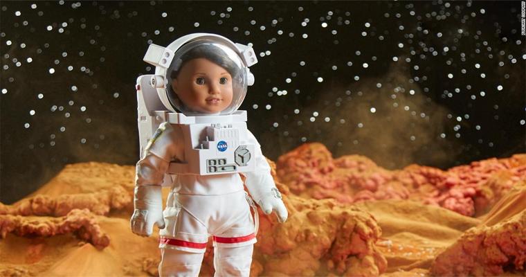 american girl astronaut doll