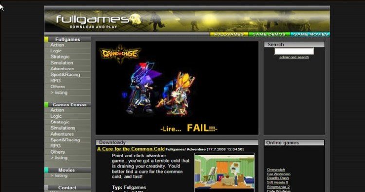Top 25 Websites for Download Free Games - 8 SUBJECTS