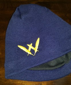 Feather W Knit Cap