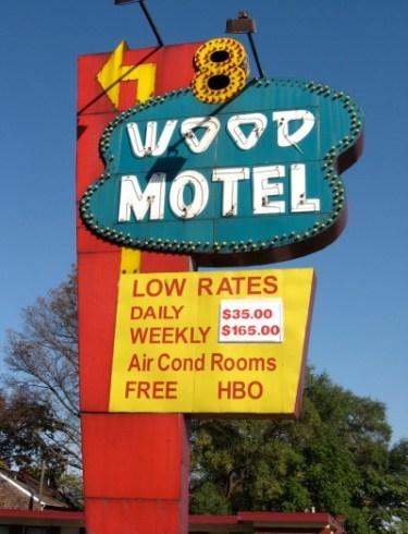 8 Wood Motel, Ferndale