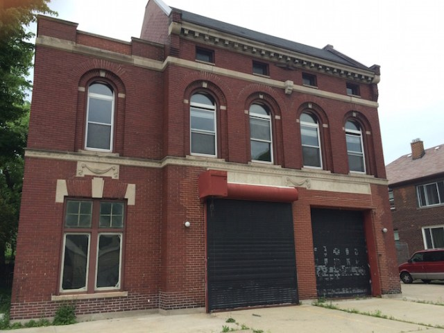 The former Detroit Fire Departments Ladder No. 4/Engine No. 10 has been vacant since 2012.