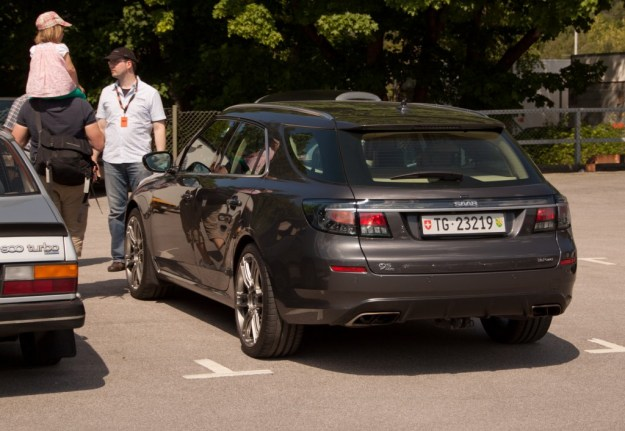 Nr 46 at the Saab Festival 2013.