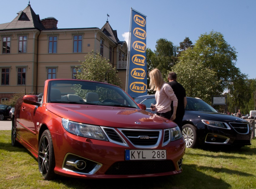 Nr 12 for sale at the Saab Festival, June 2013