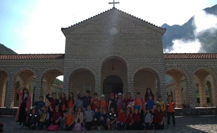 Ekskursion i klasës së IV në Këlcyrë