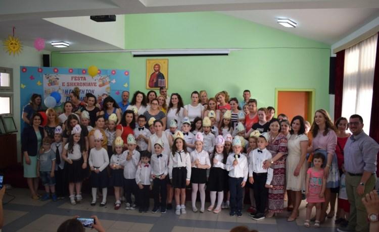 Festa e shkronjve (Klasa e parë )