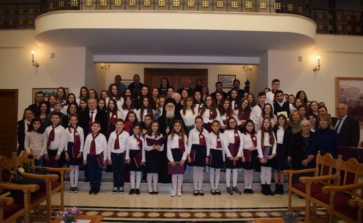 Vizitë te Kryepiskopi Anastas 26.01.20