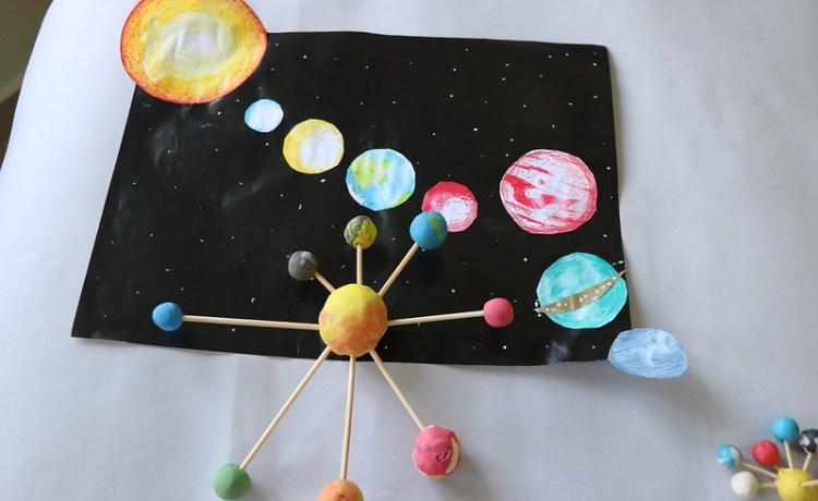 Projekti për sistemin tonë diellor (Gjeografi VII)