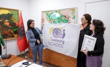 Çmim i rëndësishem i Komisionit Europian  për shkollën tonë