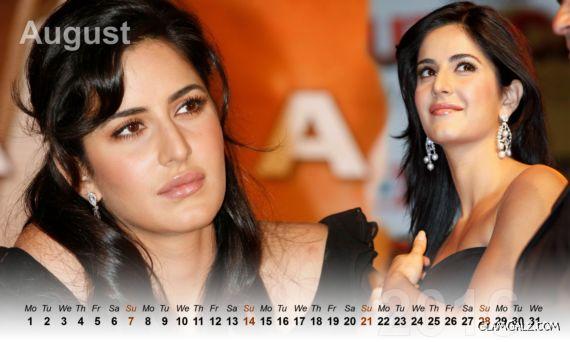 Katrina Kaif Calendar 2016