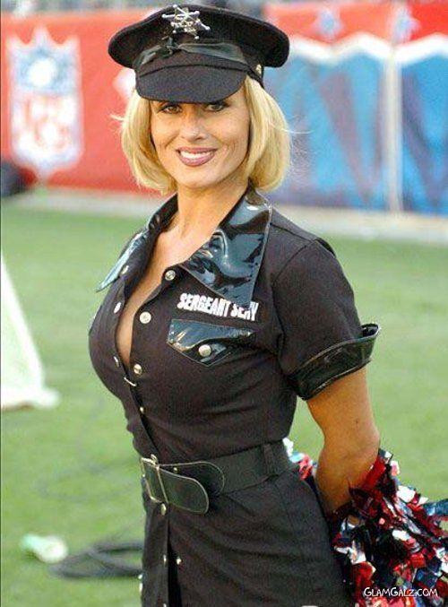 Hottest Cheerleaders at Halloween