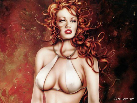 Fantastic Women Paintings By Jennifer Janesko