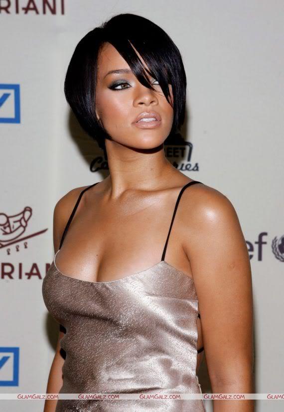 Rihanna Poses for UNICEF