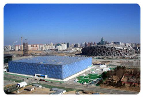 Amazing National Aquatics Center, China